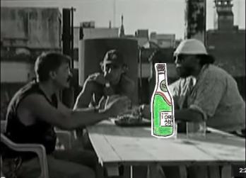 Scène extraite du film argentin «El asadito» de Gustavo Postiglione.