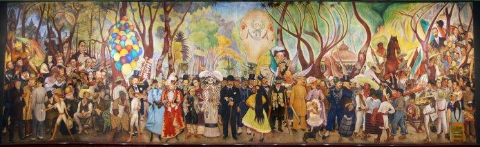 Diego Rivera, «Sueño de una tarde dominical en la Alameda Central». Crédit: News.urban360.com.mx
