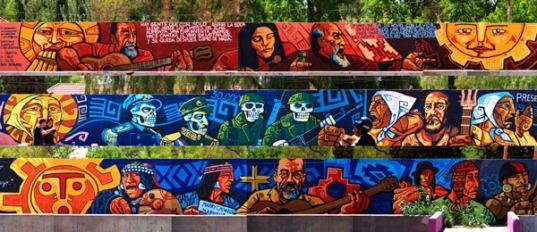 Encuentro latinoamericano del muralismo. (graficamestiza.com)