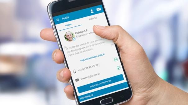 Chaque membre BlaBlaCar dispose d'un profil sur la plateforme avec ses informations personnelles vérifiées pour plus de sécurité. Crédit : divulgation BlaBlaCar.fr